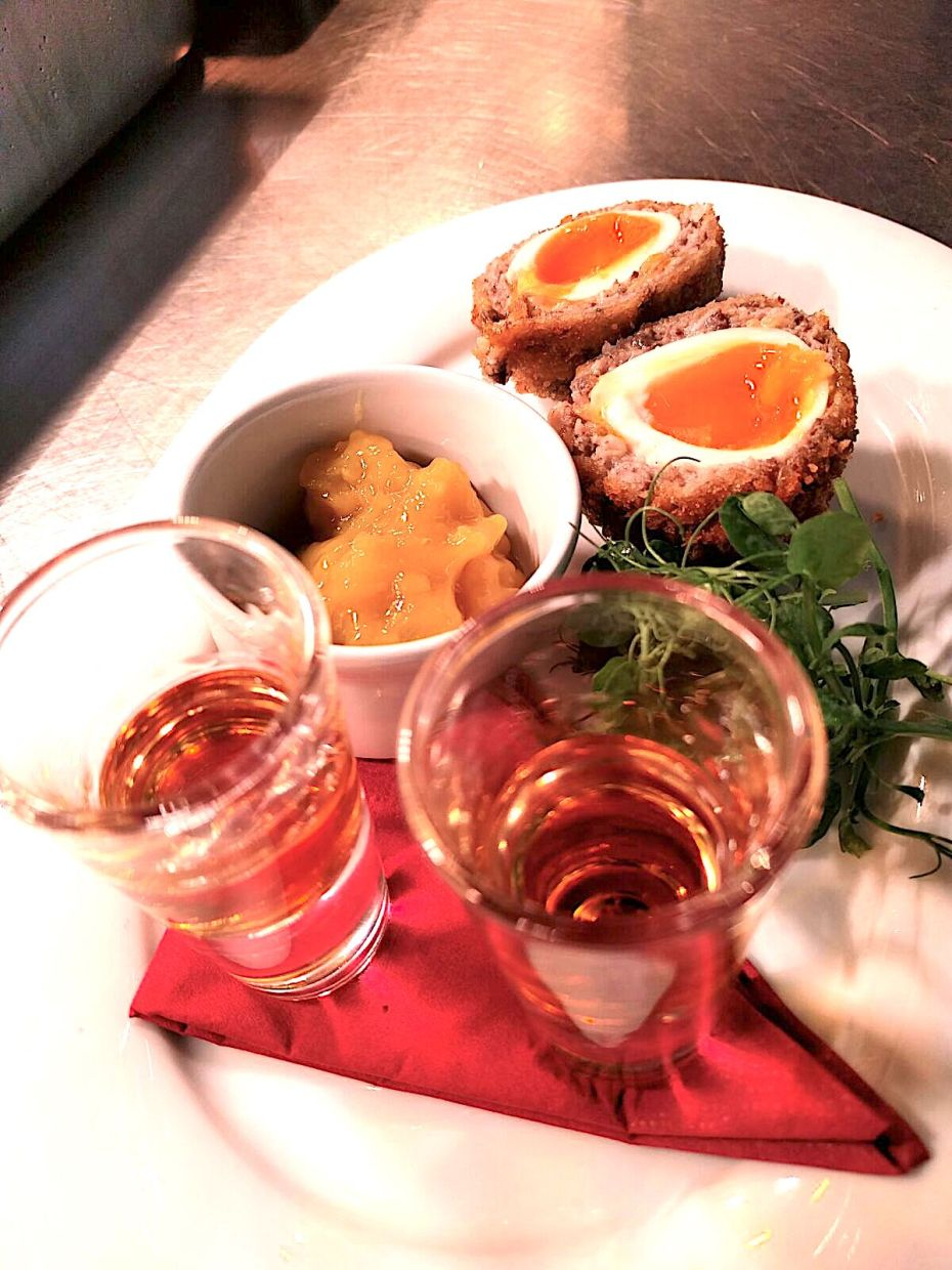 Haggis Scotch Egg Recipe by Ricky Panesar